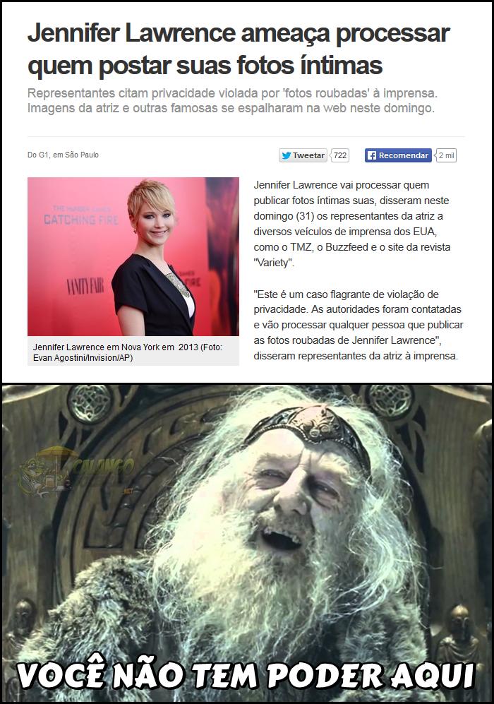 Jennifer Lawrence Pelada