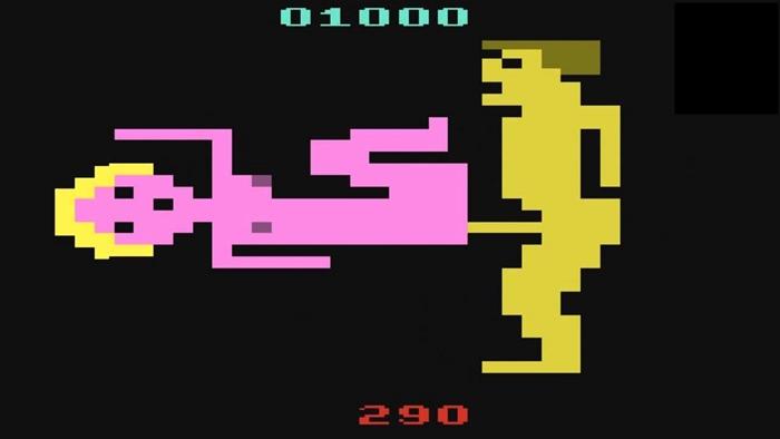 jogos pornô mais famosos do Atari