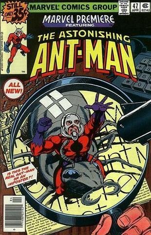 quadrinhos homem-formiga