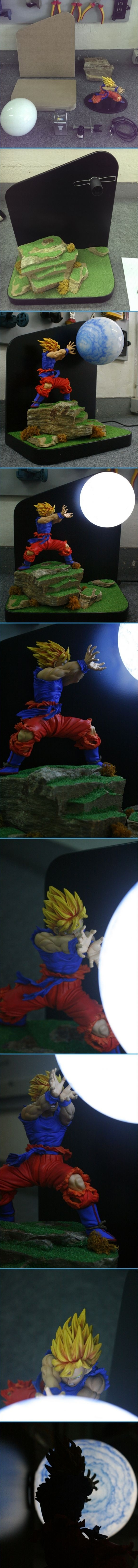luminaria Goku