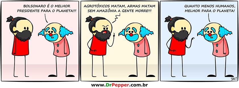 Clique para mais tirinhas do Dr. pepper